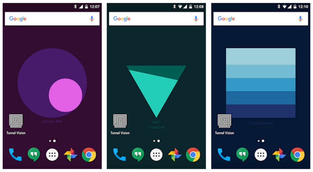 Google Meter zeigt den Ladestand des Akkus als Wallpaper auf dem Android Smartphone an (Bild: Screenshot Google Play).