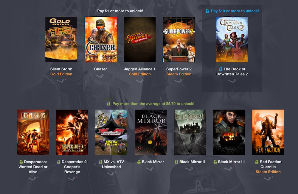 Humble Weekly Bundle: Nordic Games 3 (Bild: Screenshot Humble Bundle).