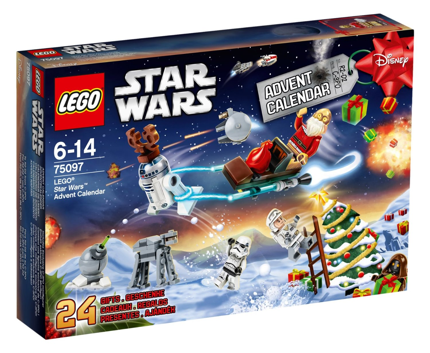 LEGO Starr Wars Adventskalender (Bild: Amazon.de).