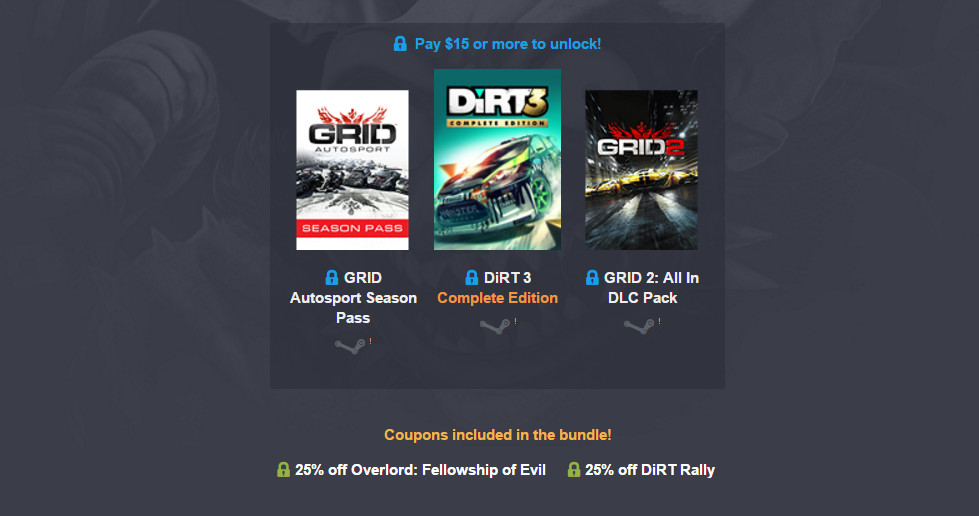 Humble Codemasters Bundle (Bild: Screenshot Humble Bundle).