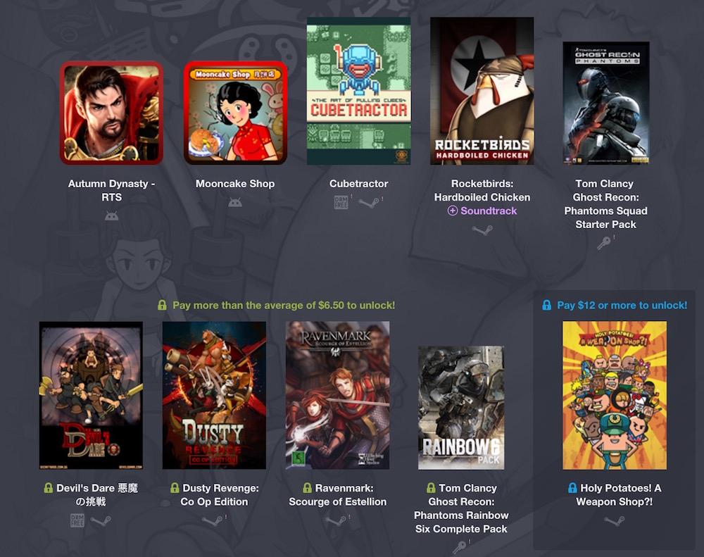 Humble Weekly Bundle: Made in Singapore (Bild: Screenshot Humble Bundle).