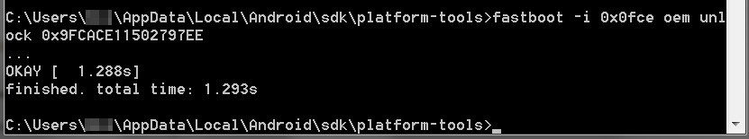 Bootloader des Sony Xperia Z3 mit Fastboot entsperren (Bild: Screenshot Windows Eingabeaufforderung).