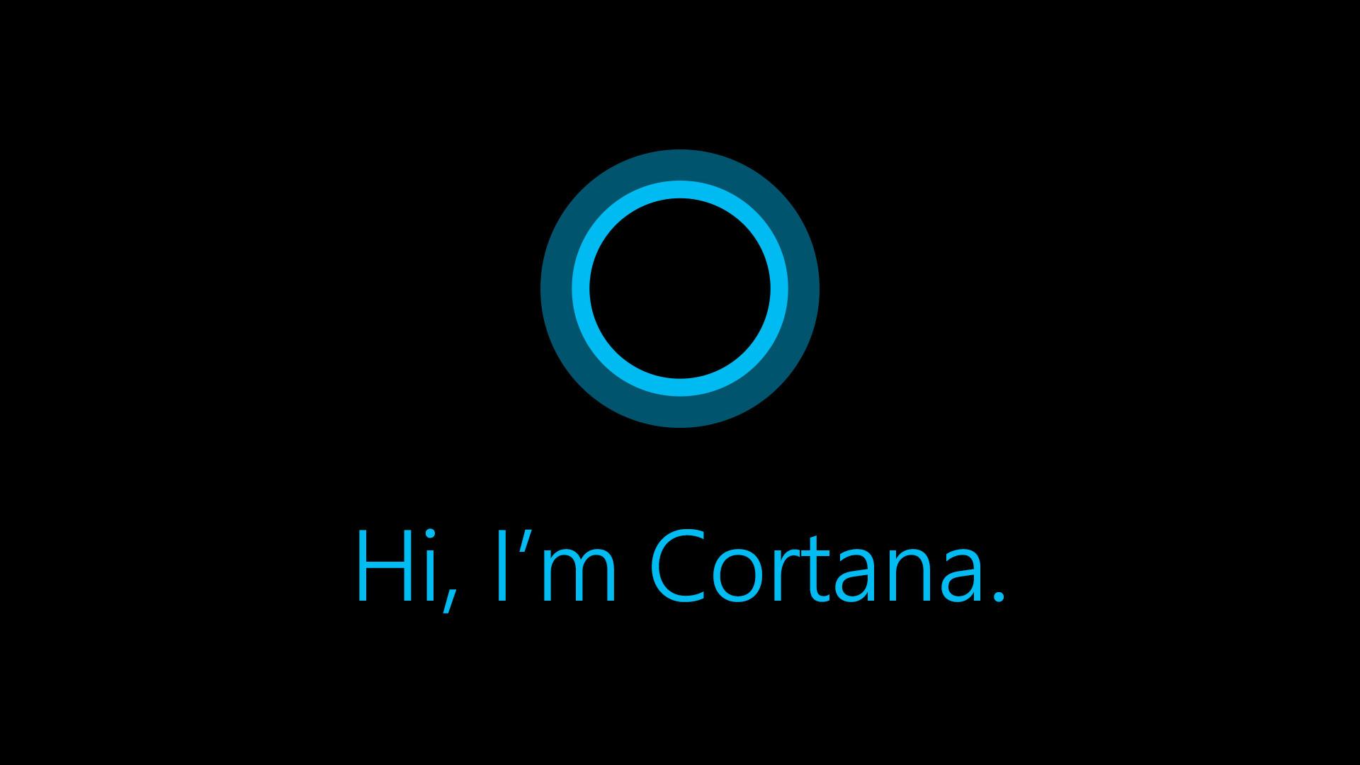 Die Sprachassistentin Cortana von Microsoft (Bild: Microsoft).