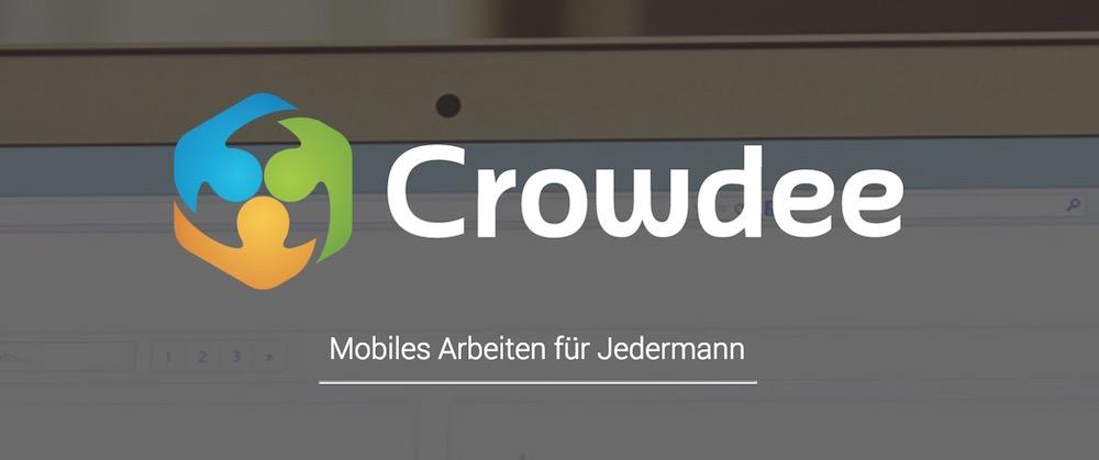 Crowdee vermittelt Micro-Jobs über einen Marktplatz (Bild: Screenshot Crowdee.de).