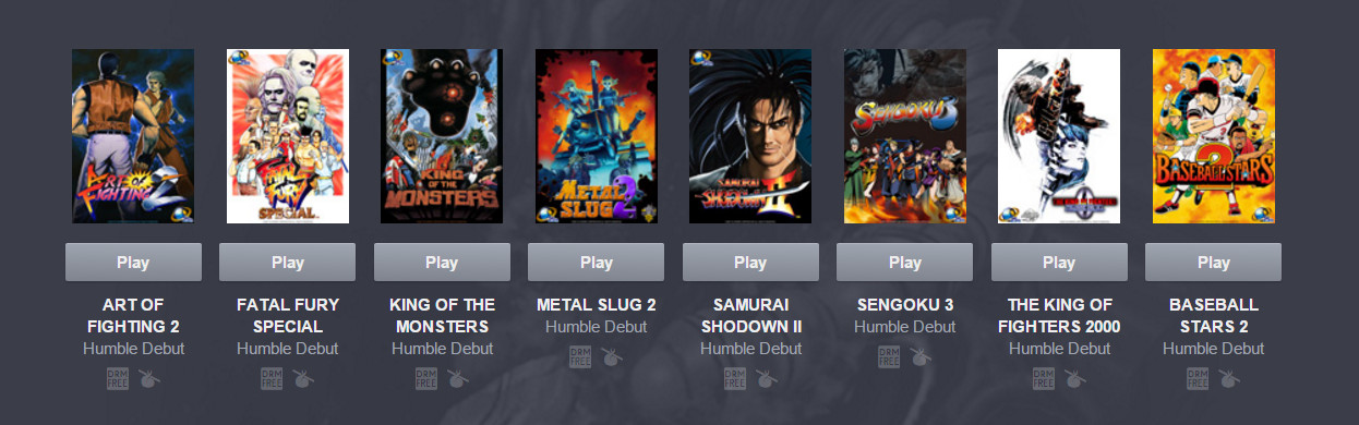 Humble NEOGEO 25th Anniversary Bundle (Bild: Humble Bundle).