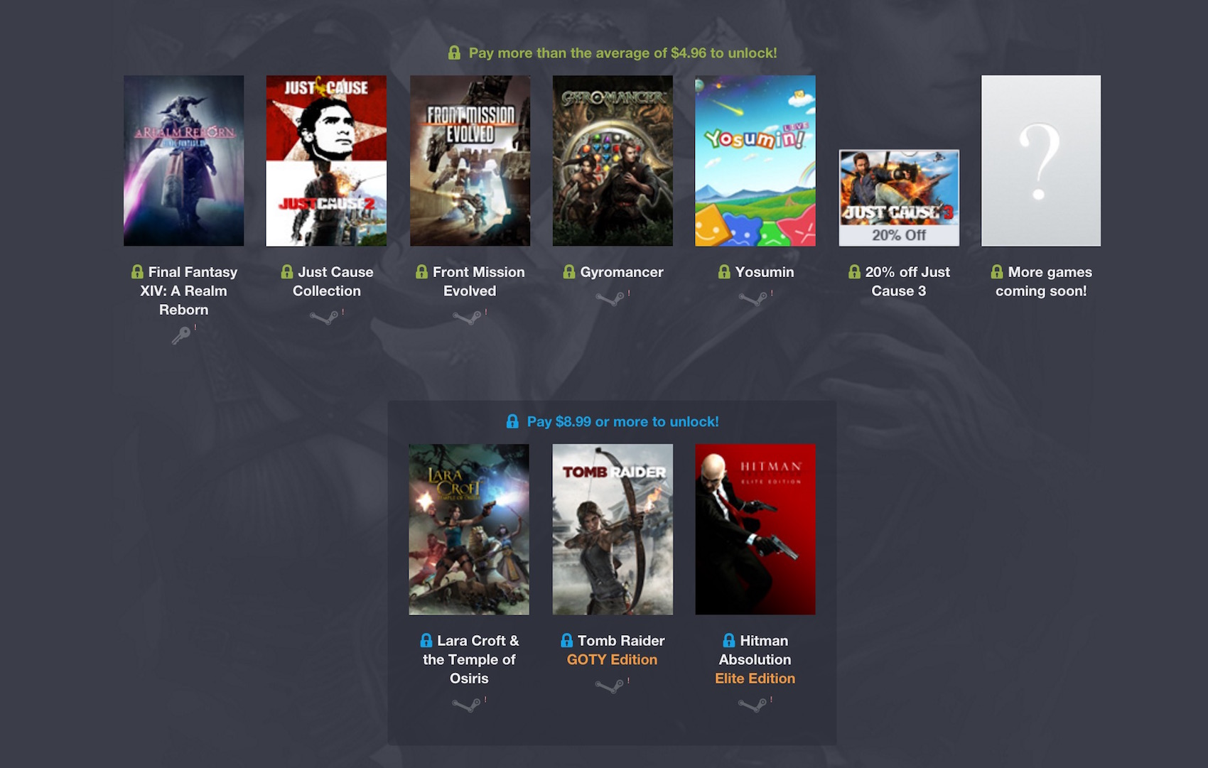 Humble Square Enix Bundle 3
