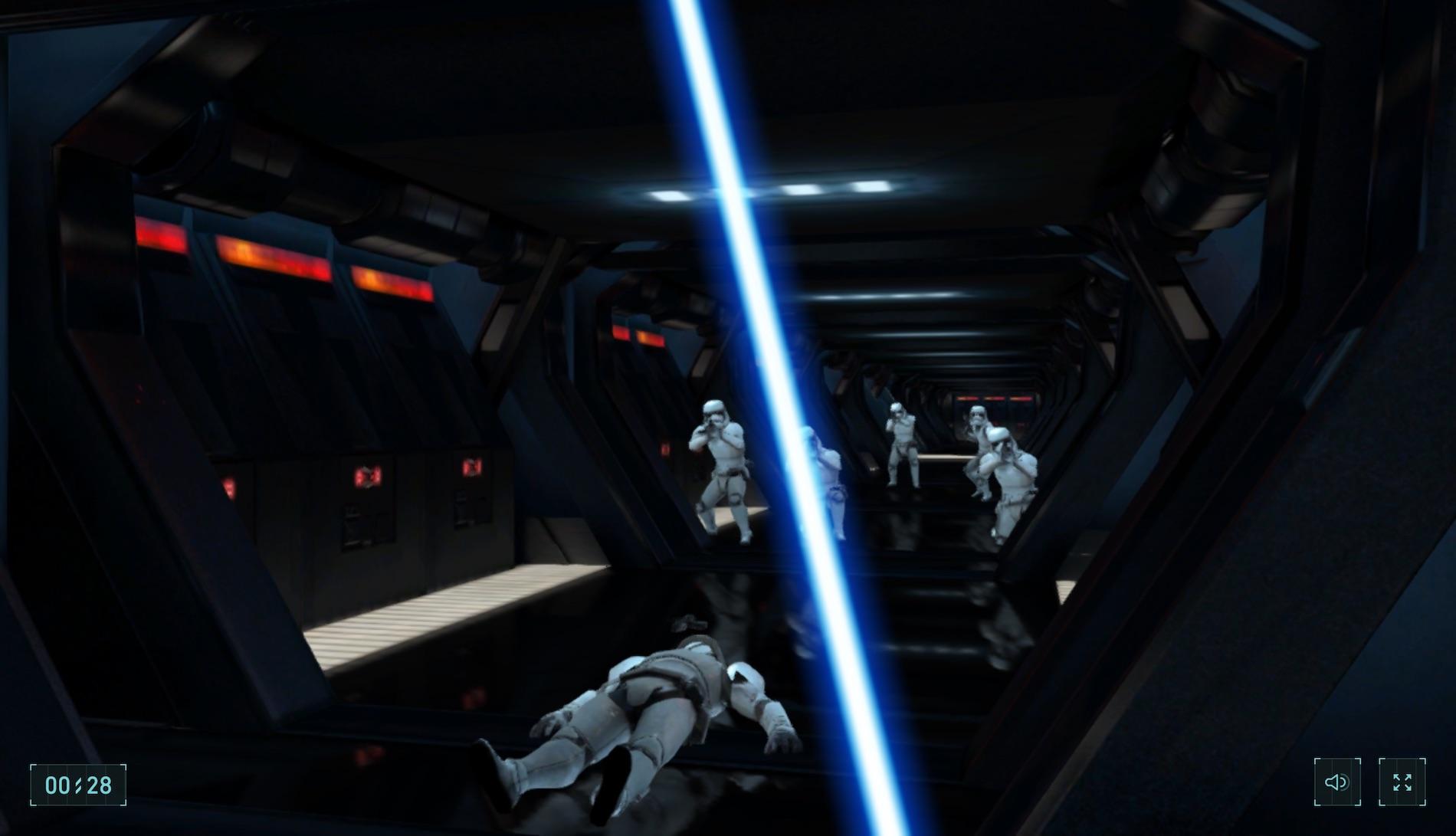 Star Wars im Chrome Browser