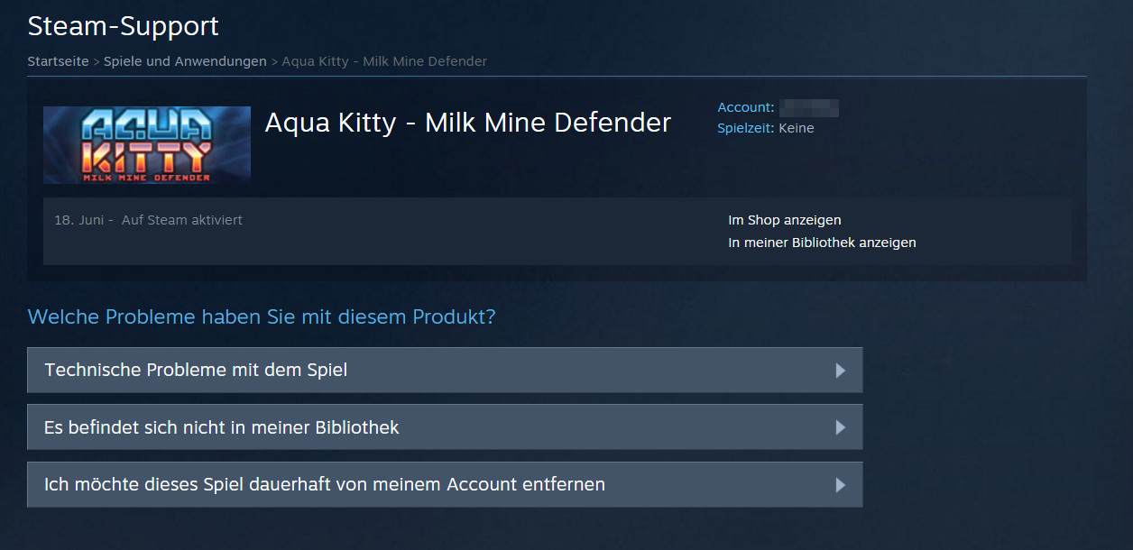 Steam - Aqua Kitty - Milk Mine Defender (Bild: Screenshot Steam).