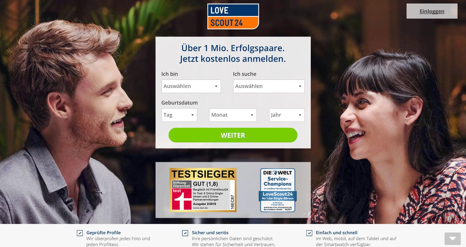 online dating testbericht