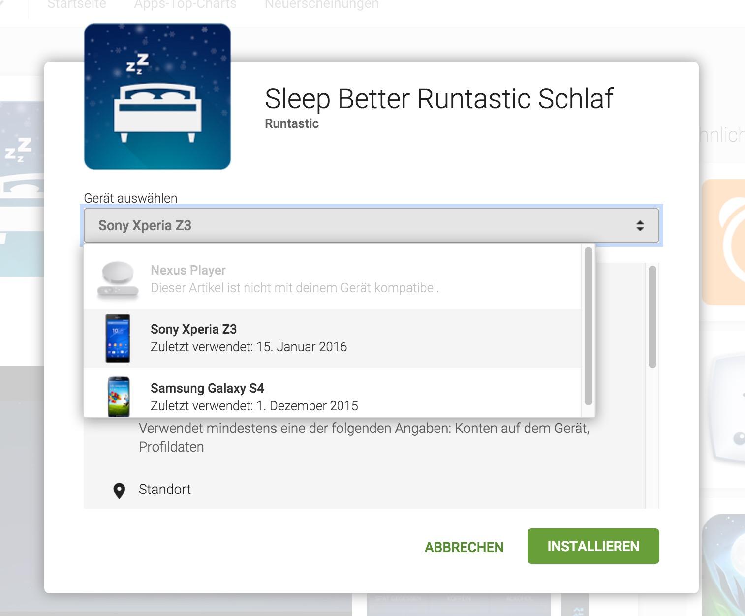 Alte Android Geräte aus Google Play löschen
