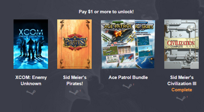 Humble Firaxis Bundle