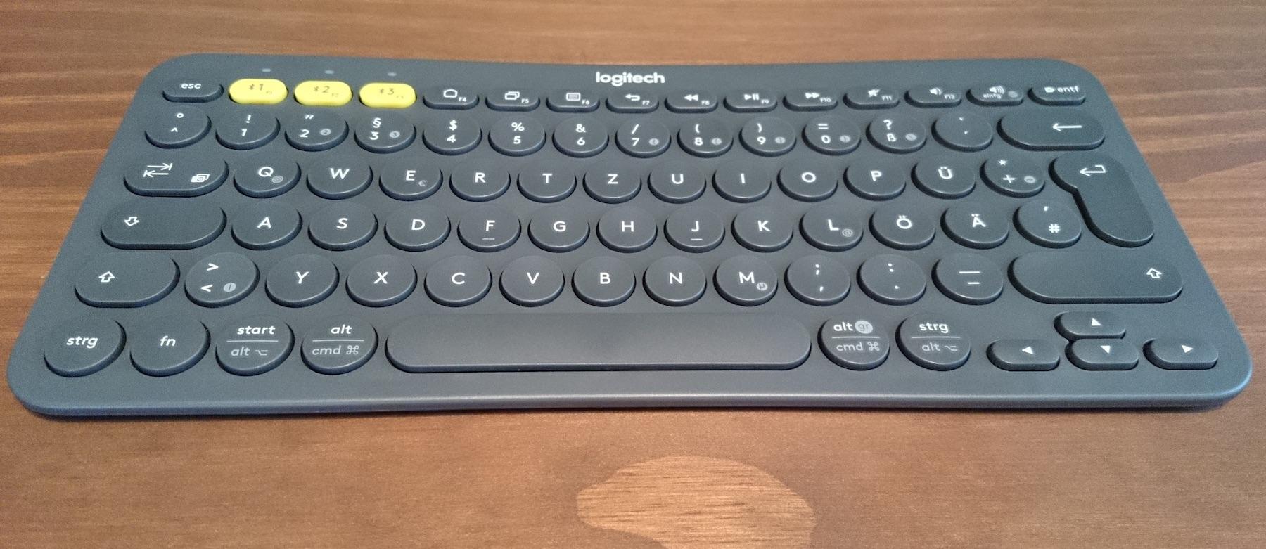 Logitech K380 Testbericht