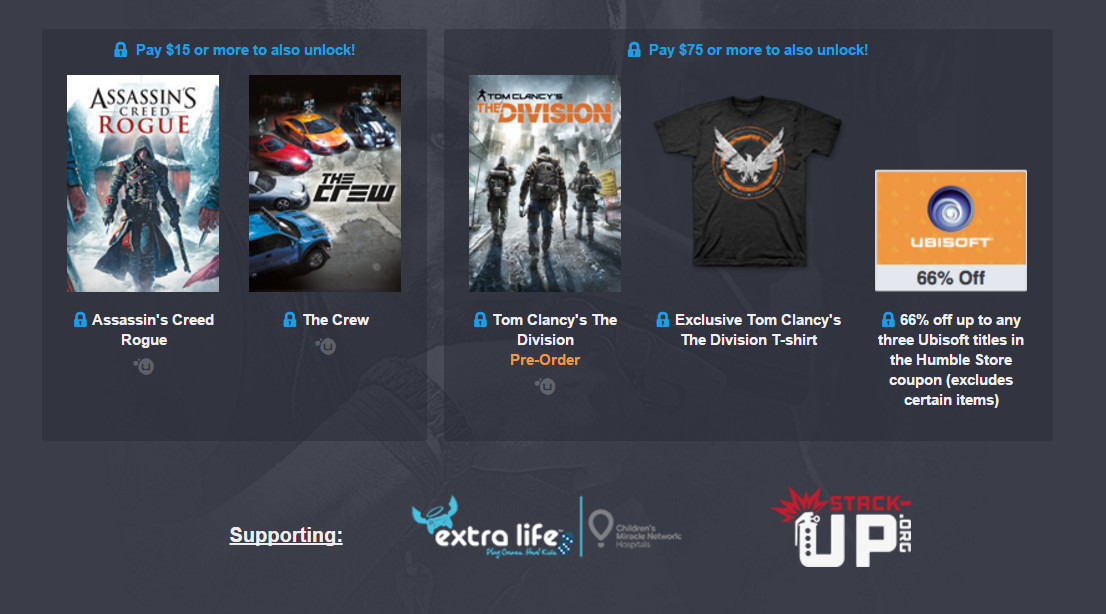 The Humble Ubisoft Bundle