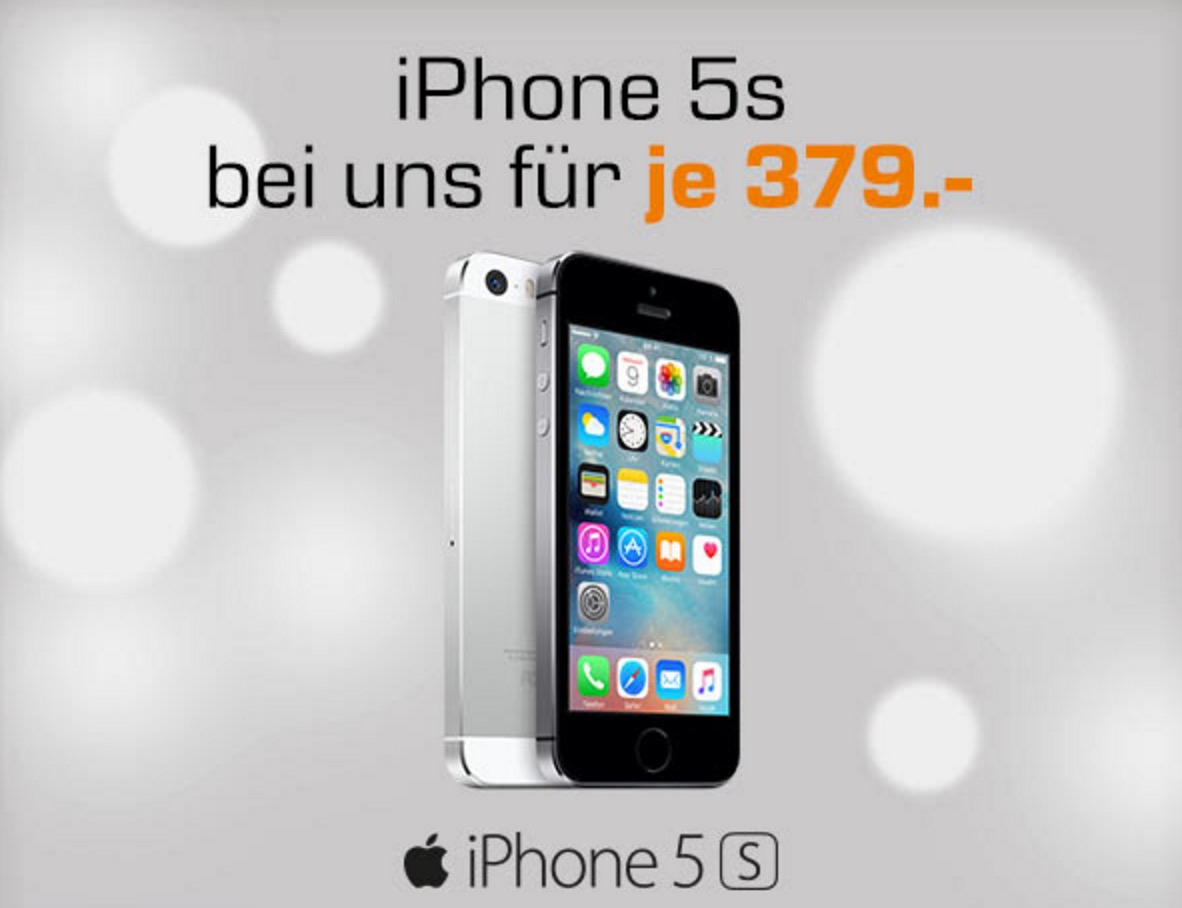 iPhone 5s im Angebot