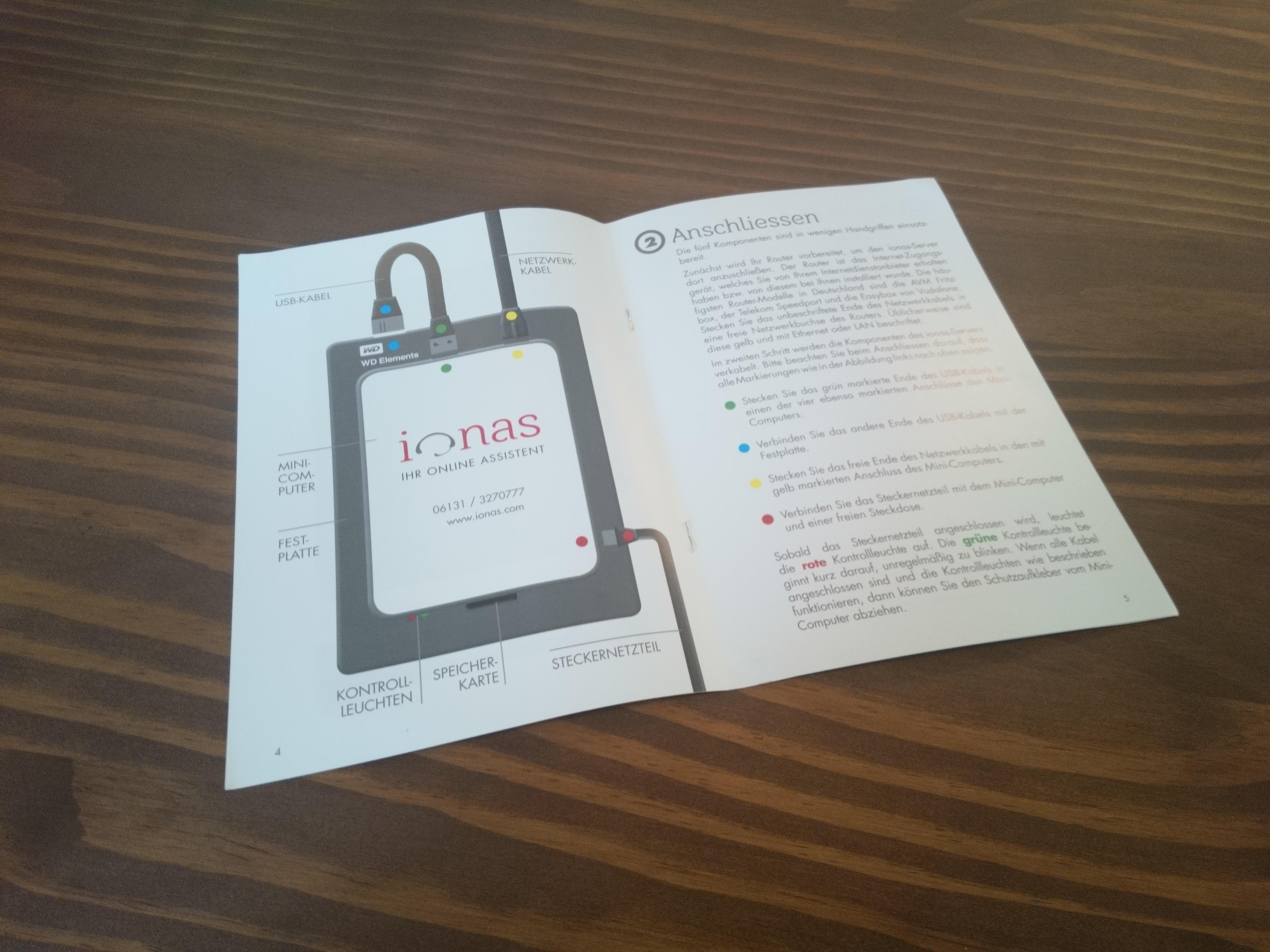 ionas-Server Home Anleitung
