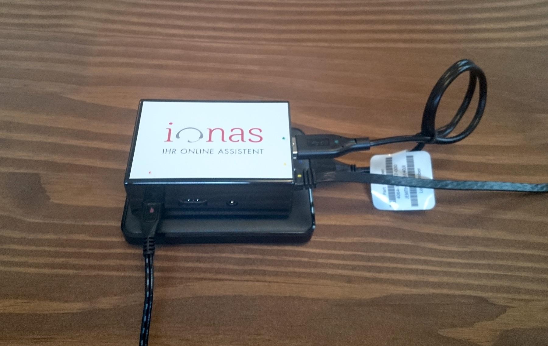 ionas-Server Home Aufbau