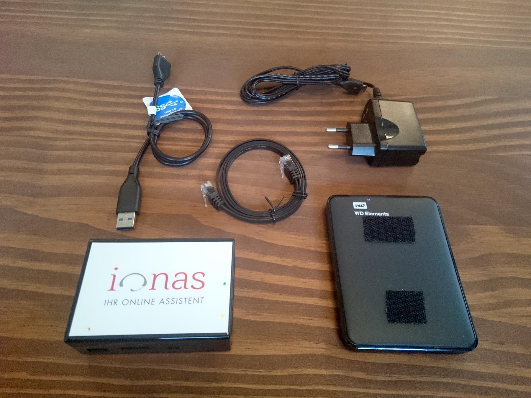 ionas-Server Home Zubehör