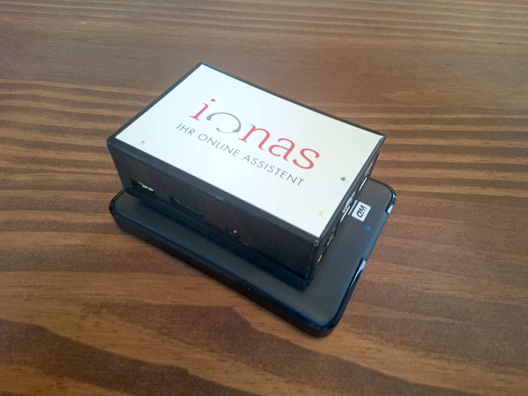 ionas-Server Home mit Festplatte