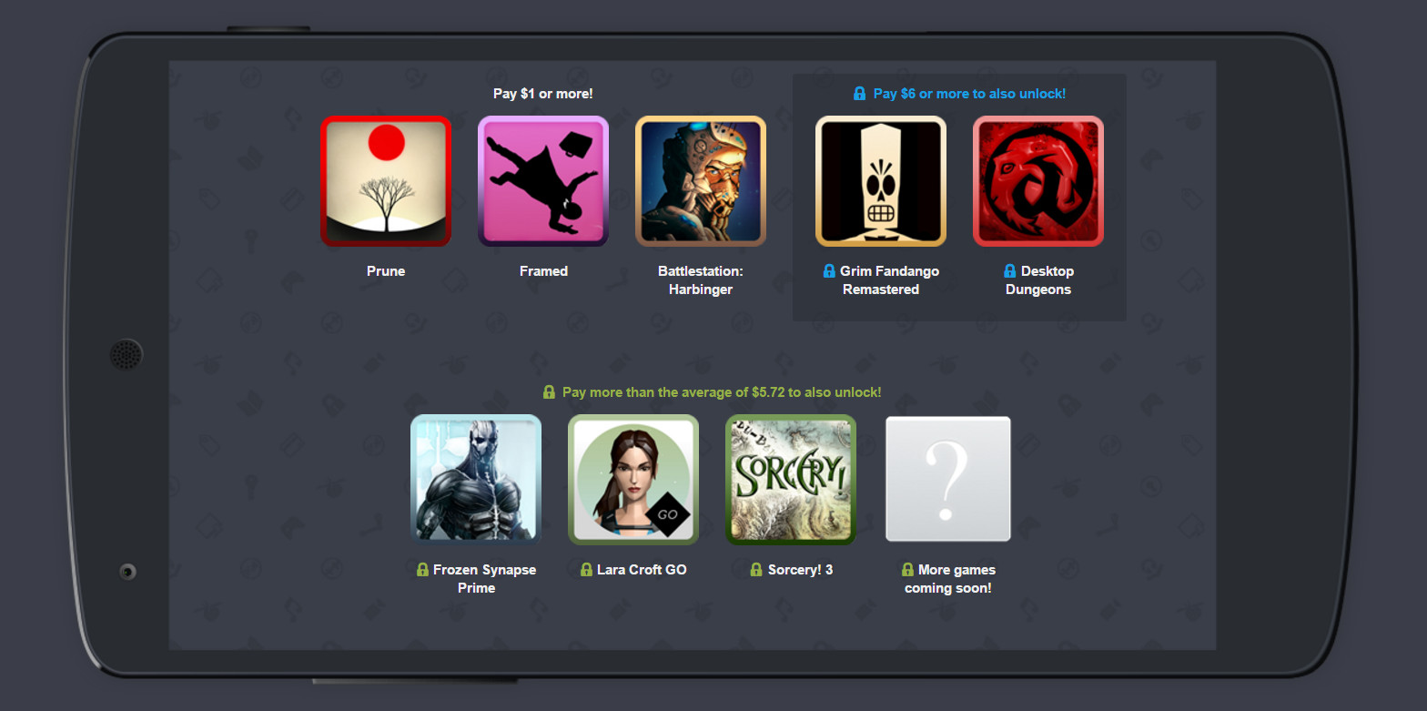 Humble Mobile Bundle 17 Spiele