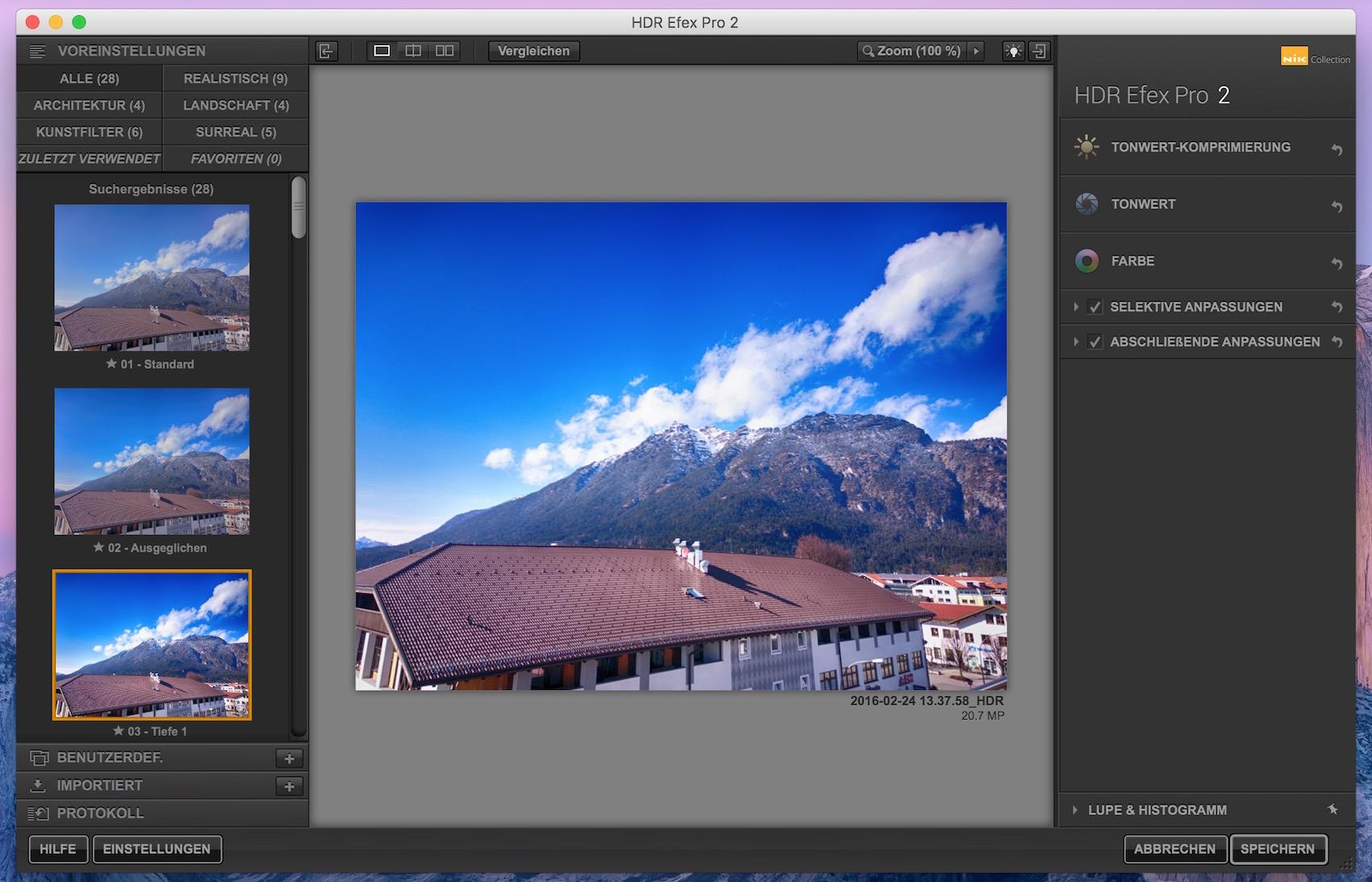 Nik Collection HDR Efex Pro 2