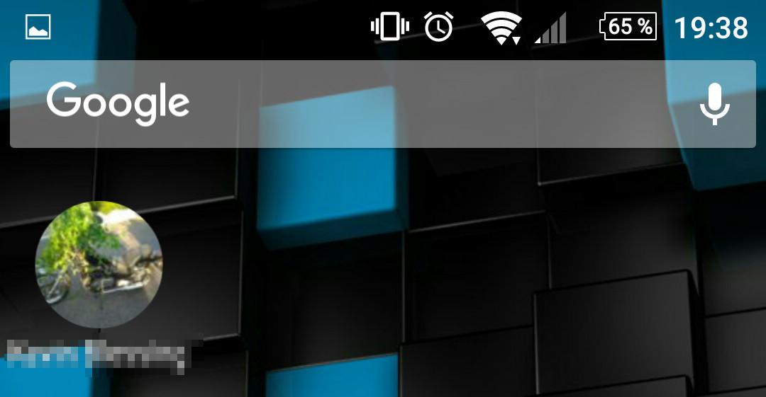 WhatsApp - Kontakte als Verknüpfung auf dem Startbildschirm