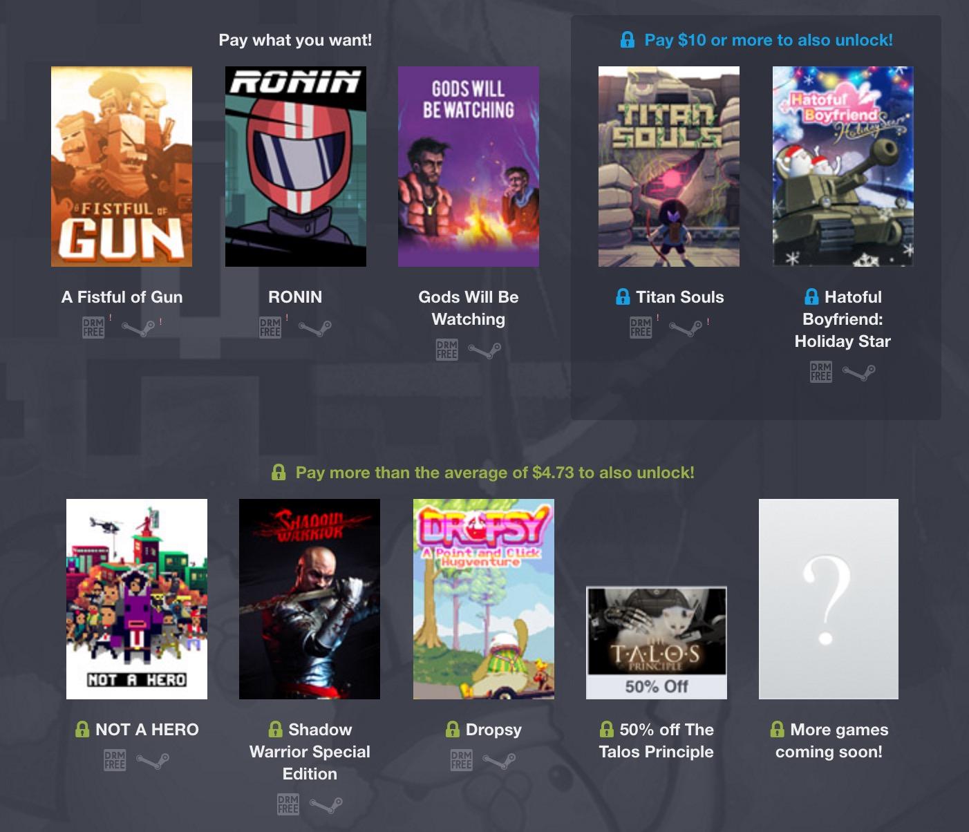 Humble Devolver Bundle Spiele