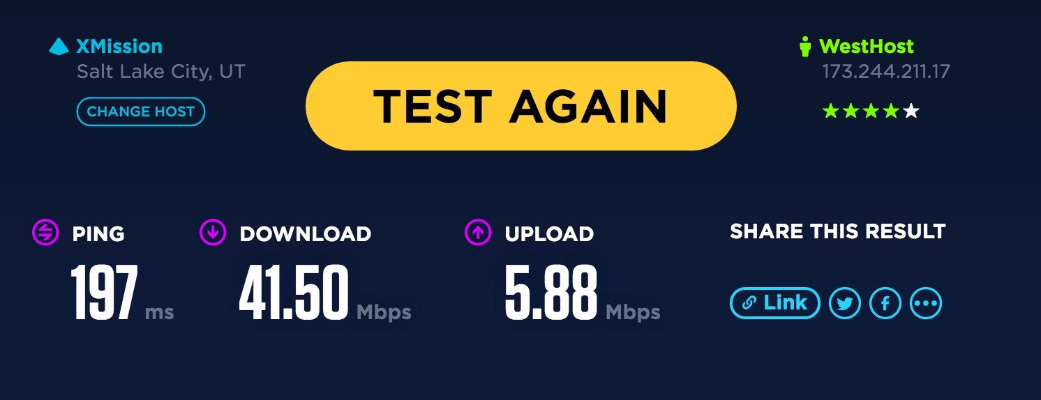 Opera VPN Geschwindigkeit