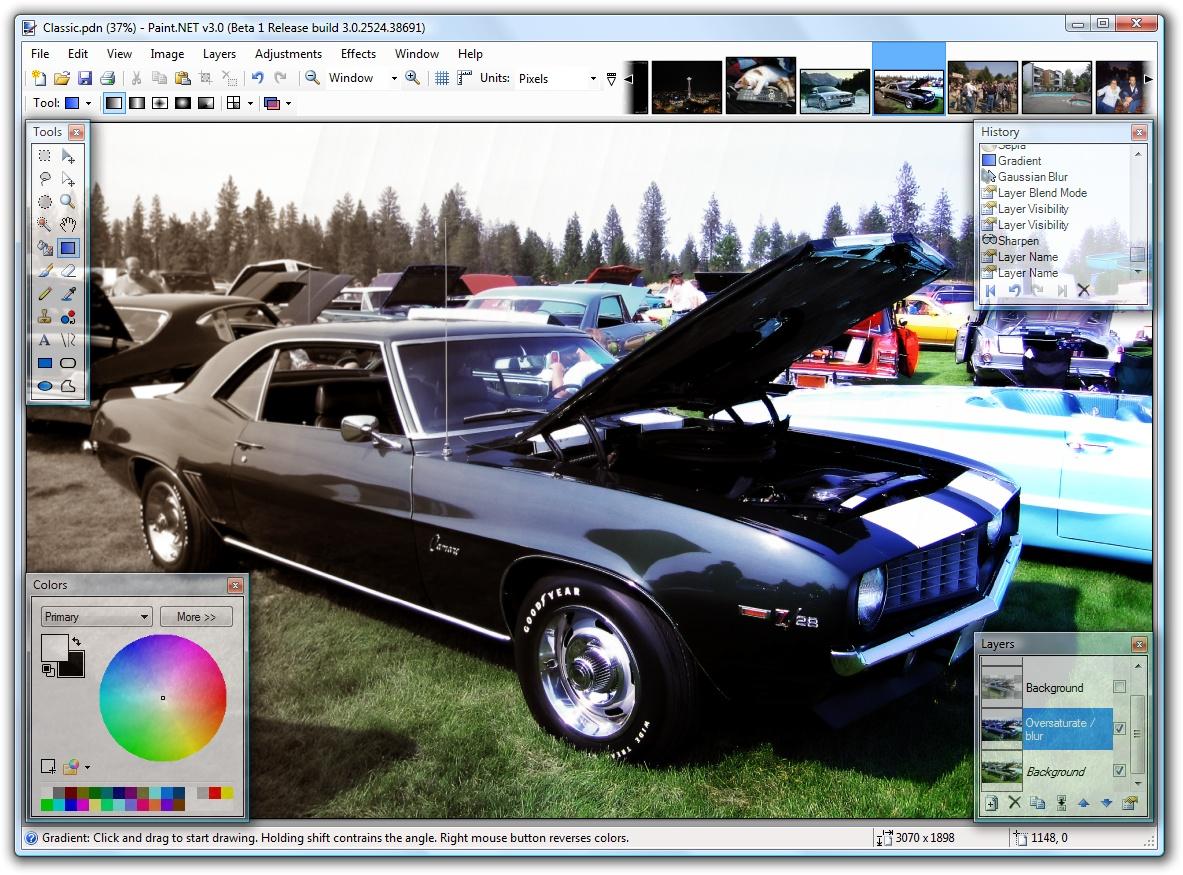 Paint.NET schwarz-weiß-Bild