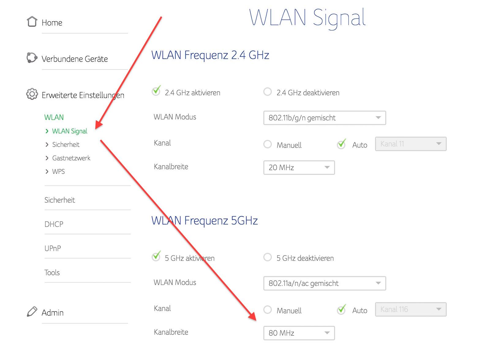 Unitymedia Connect Box - Schlechte Geschwindigkeit im WLAN