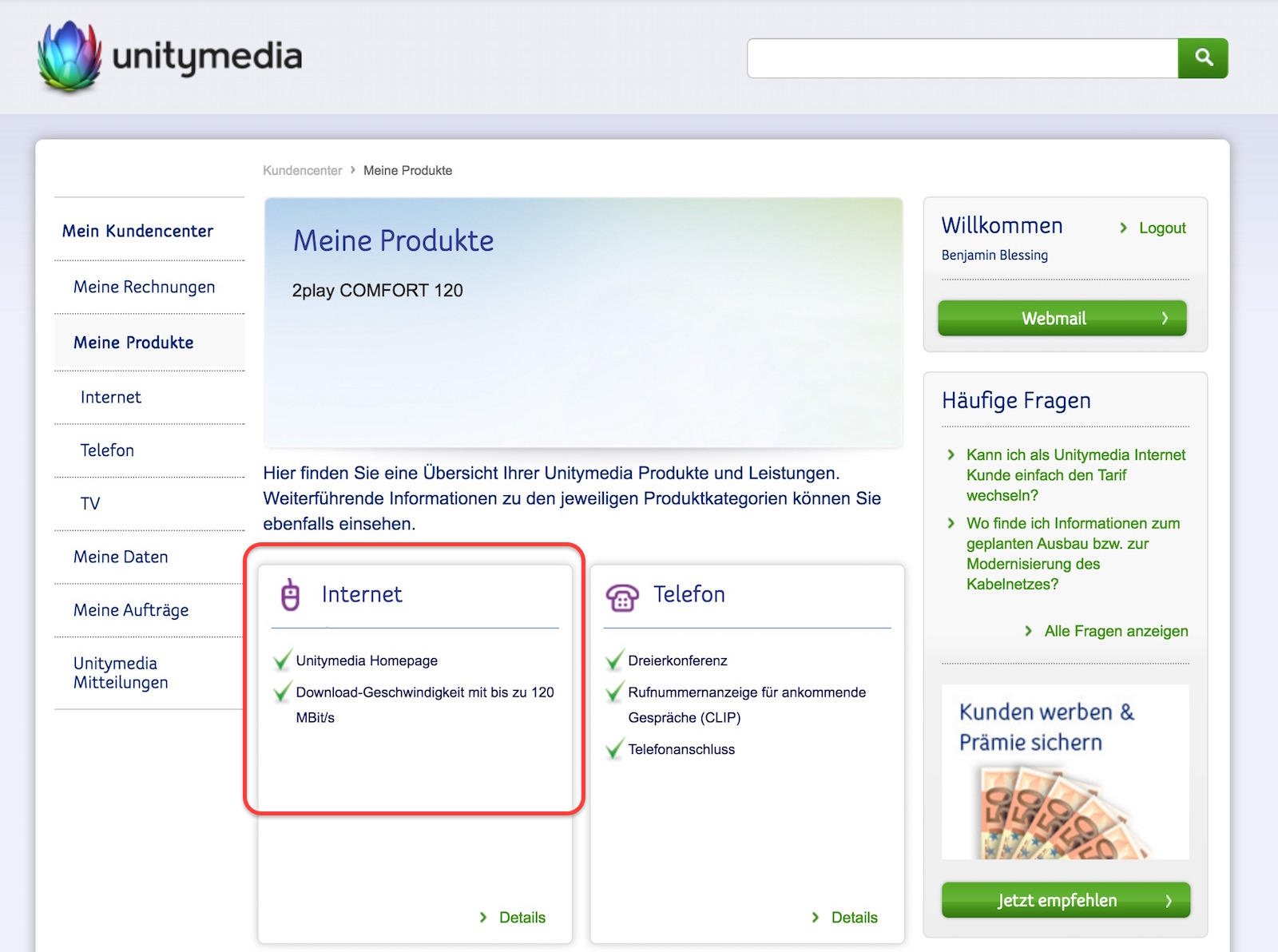 Unitymedia WifiSpot deaktivieren