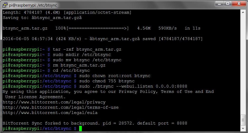 BitTorrent Sync installieren