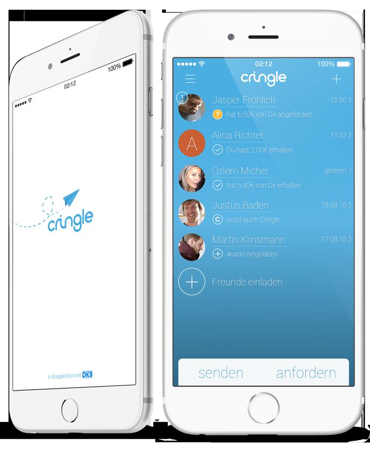 Cringle ist für Android und iOS verfügbar (Bild: Cringle.net).