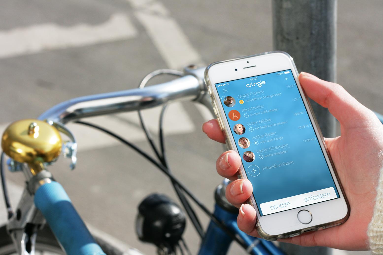 Geld lässt sich bequem über die Handynummer versenden (Bild: Cringle.net).