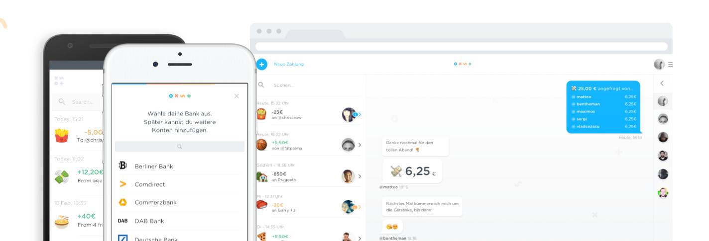 Die Cookies-App zum Überweisen von Geld