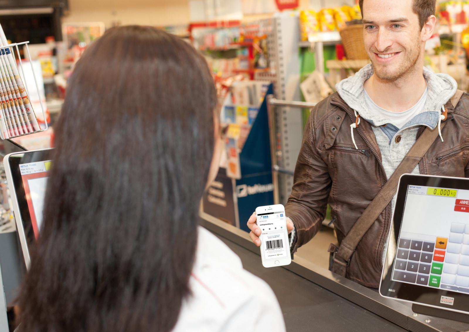 DKB Cash im Shop