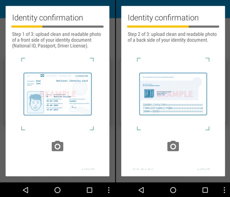 Identitätsdiebstahl: Banking-Trojaner Acecard verlangt Foto vom Ausweis und Selfies