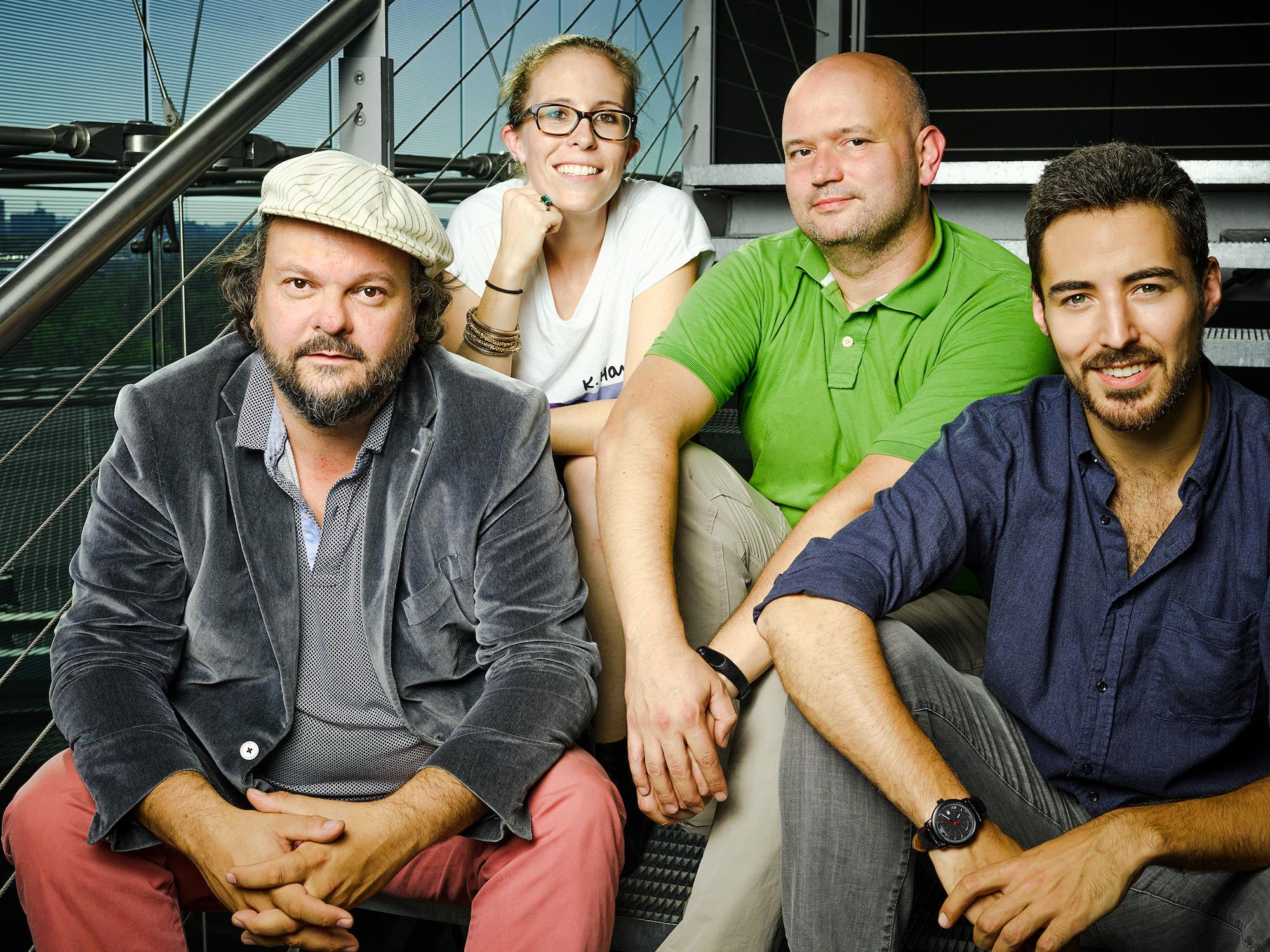 Das Kontist Gründer Team