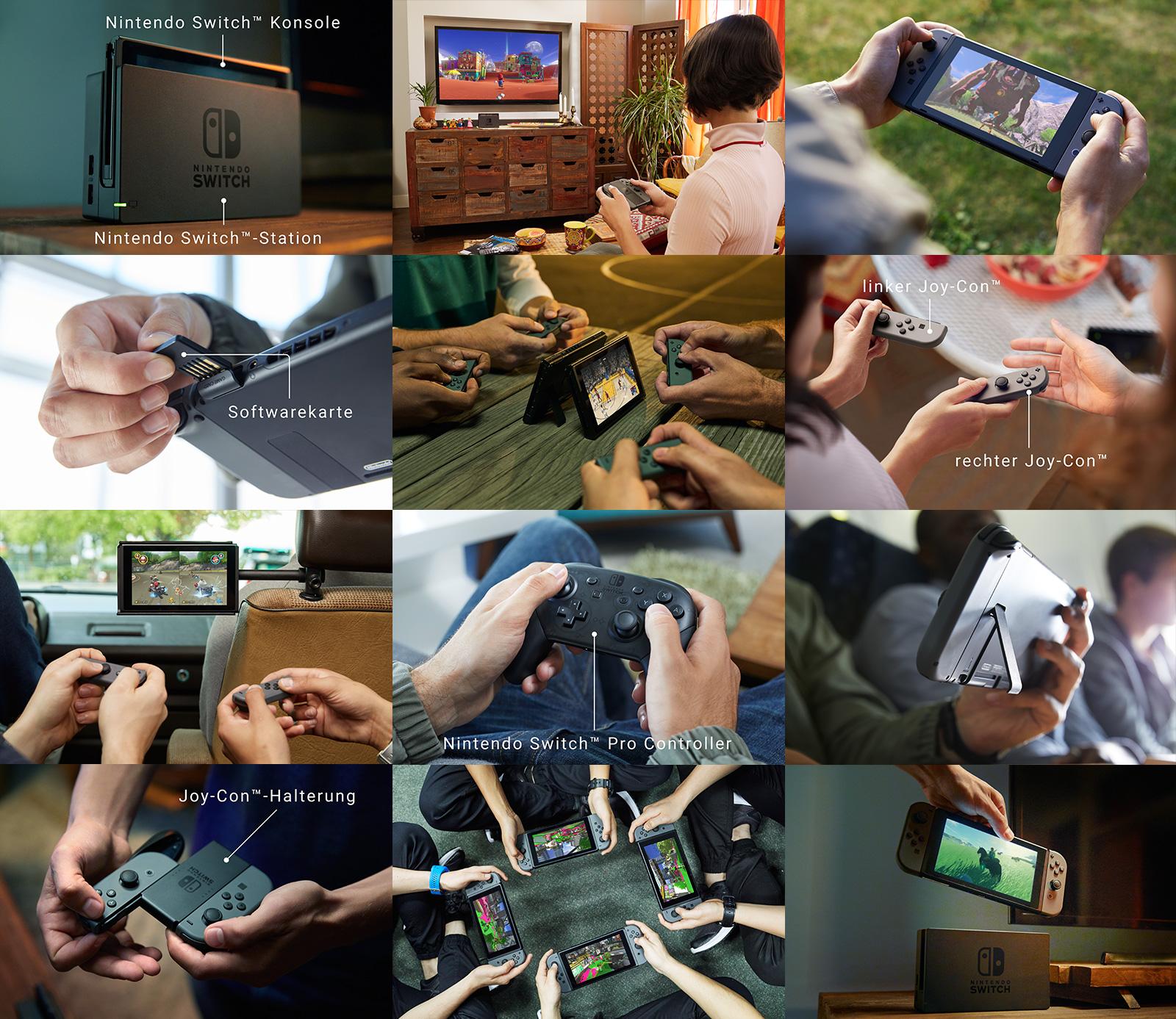 Nintendo Switch Preise veröffentlicht