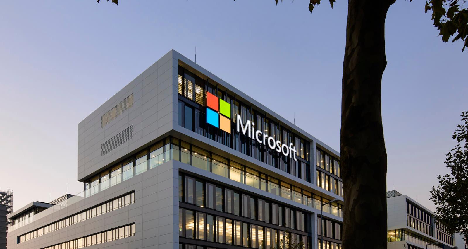 Microsoft in Schwabing