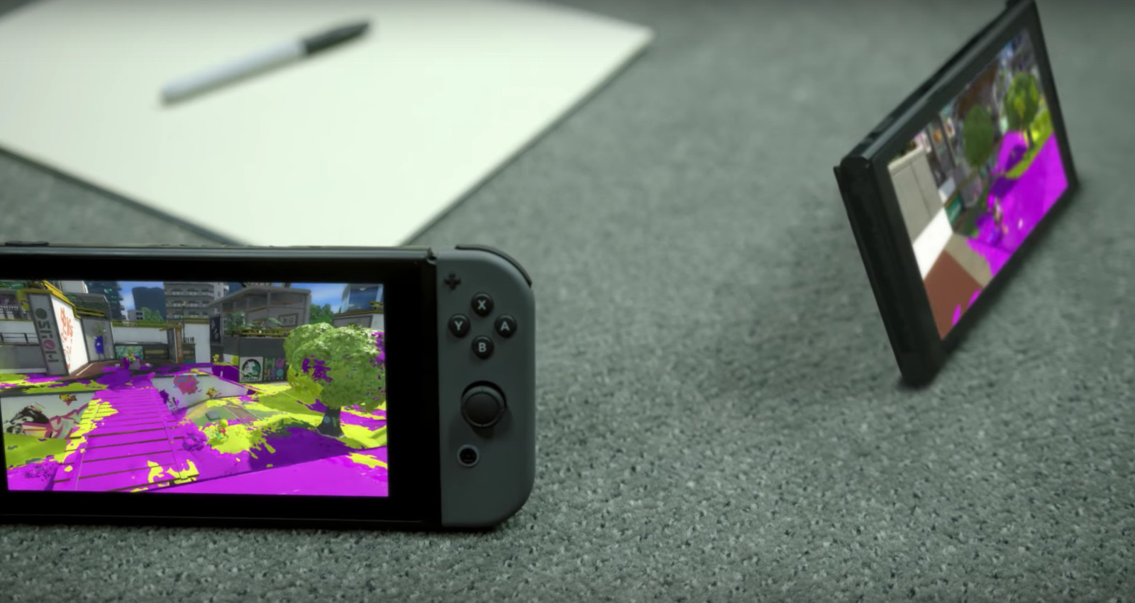 Nintendo Switch Konsole im Multiplayer