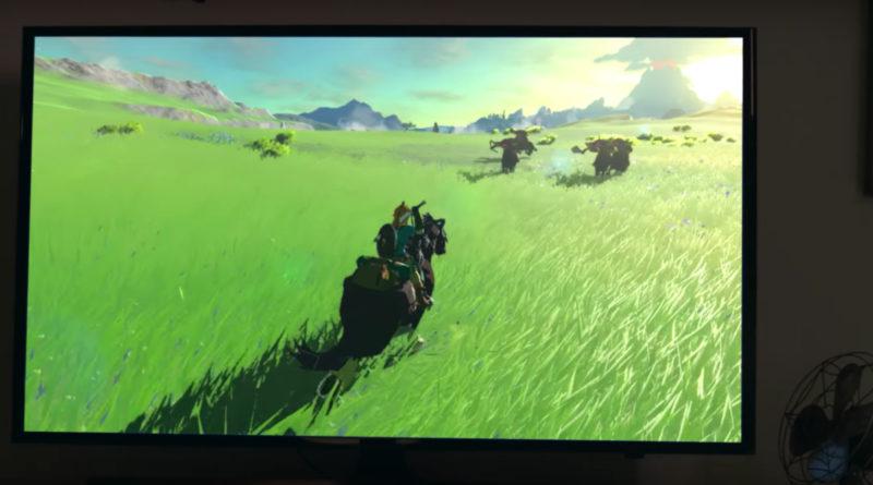 Nintendo Switch Konsole und Zelda
