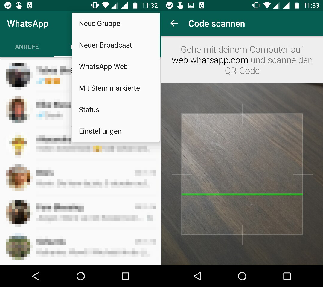 Mythen über WhatsApp Web