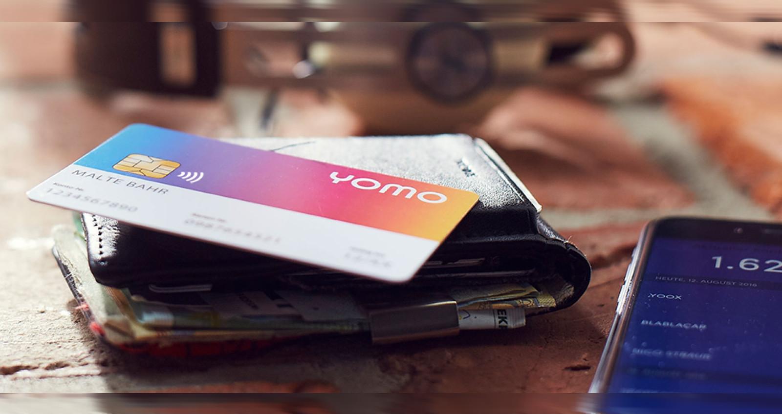 yomo kommt inklusive Girocard
