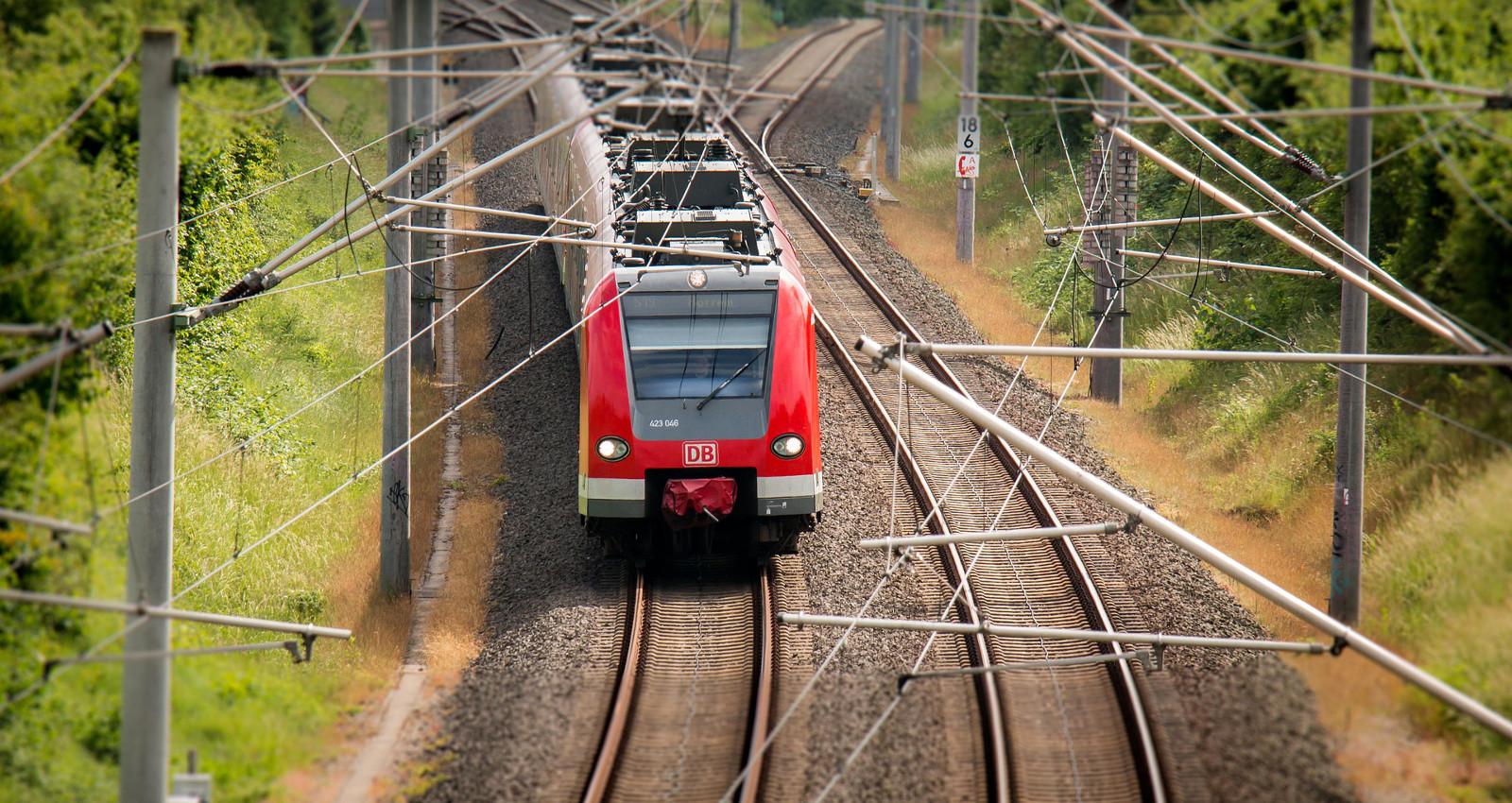 Bahn fahren ist sicher