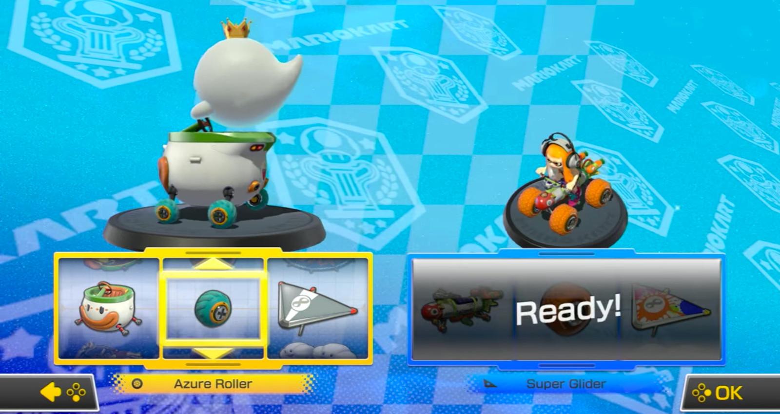 Mario Kart 8 Deluxe Fahrerwahl