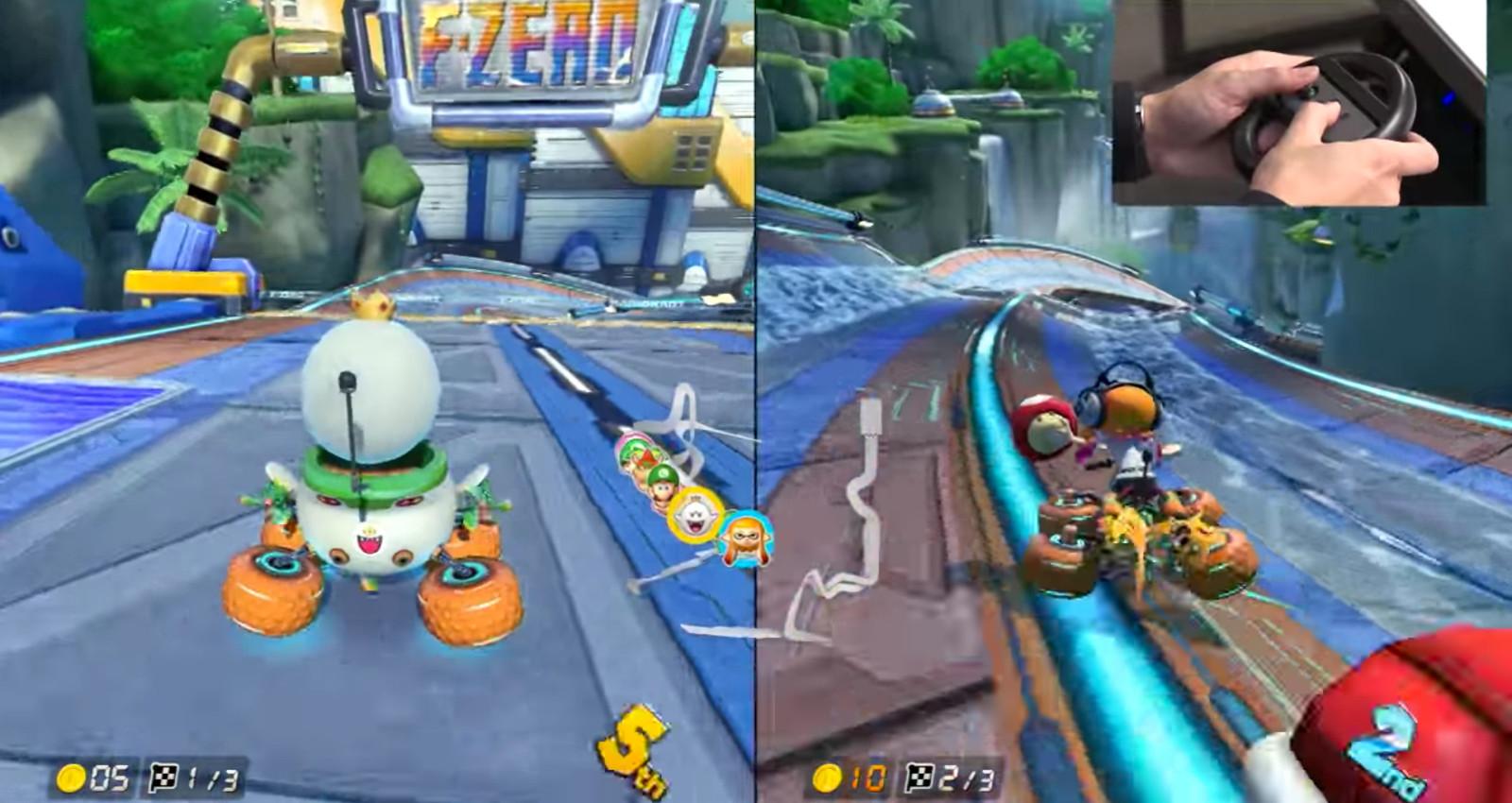 Mario Kart 8 Deluxe Rennen