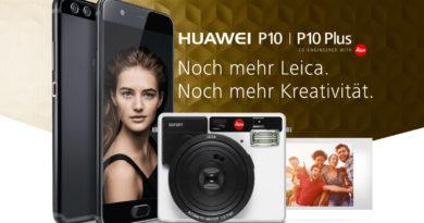 Huawei P10 oder P10 Plus: Kostenlose LEICA SOFORT bei Vorbestellung