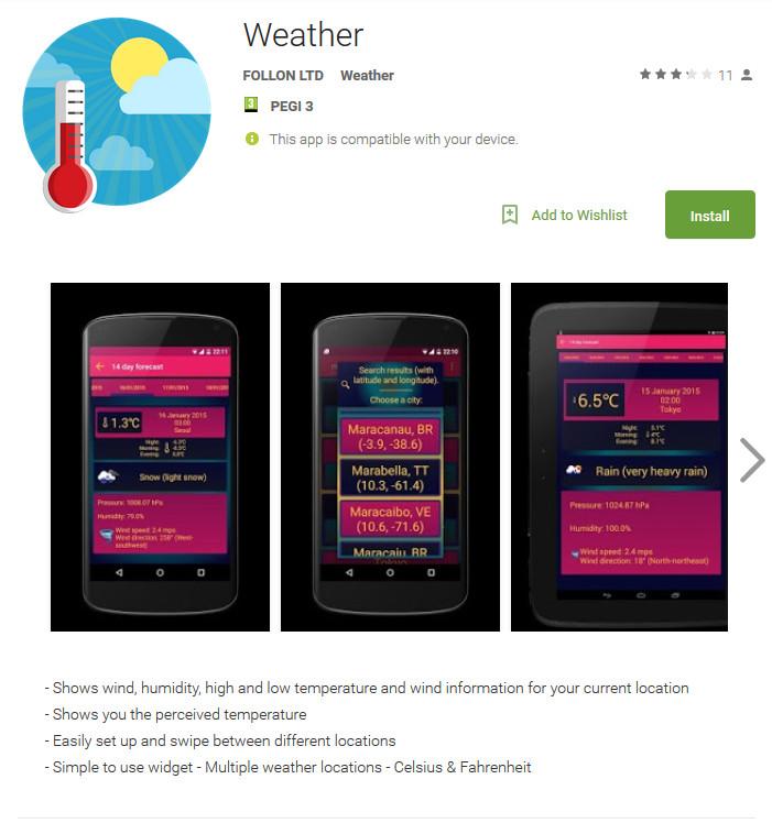 Banking-Trojaner tarnt sich als Wetter-App