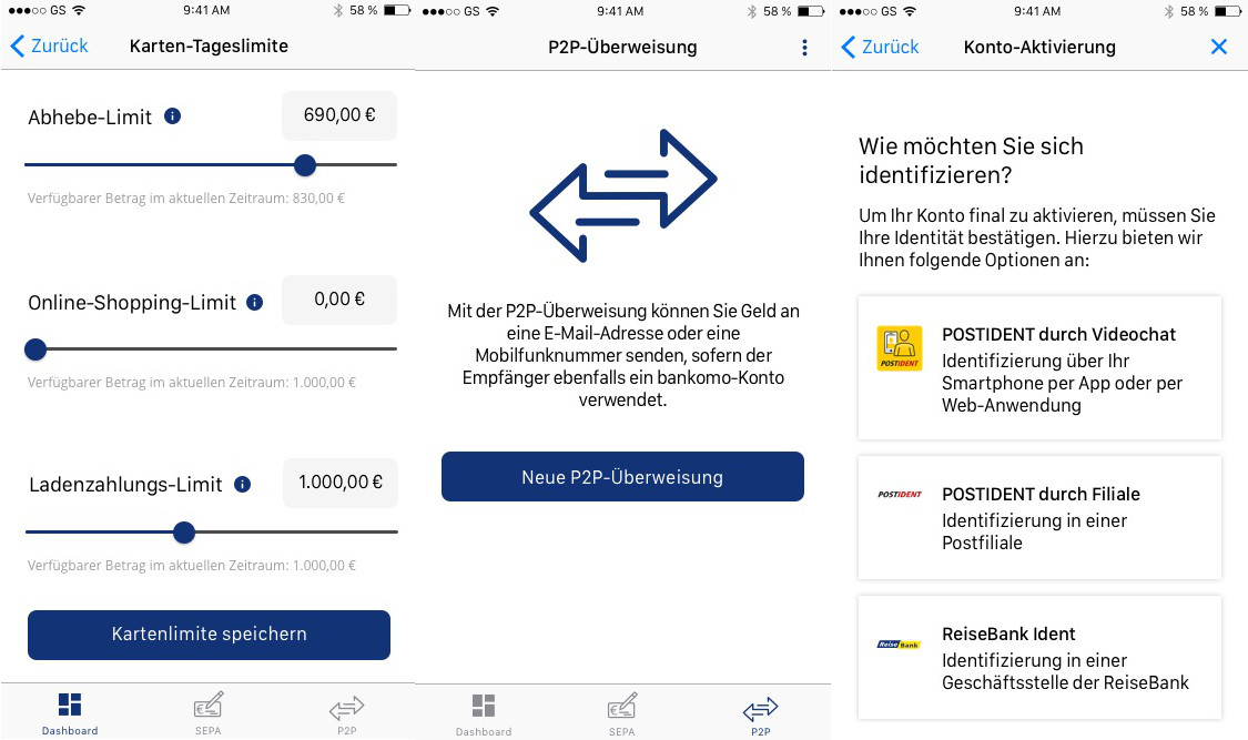 bankomo App Design