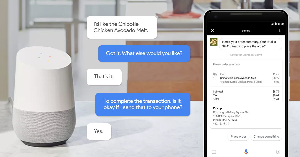 Google Assistant Telefon zu Lautsprecher